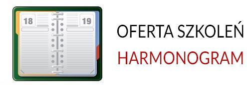 Harmonogram szkoleń