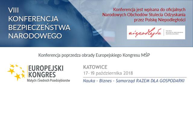 Konferencja Bezpieczeństwa Narodowego i Europejski Kongres MŚP