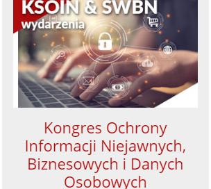 XVI Kongres Ochrony Informacji Niejawnych, Biznesowych i Danych Osobowych