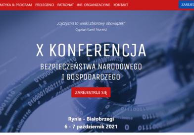Konferencja Bezpieczeństwa Narodowego i Gospodarczego jest odwołana